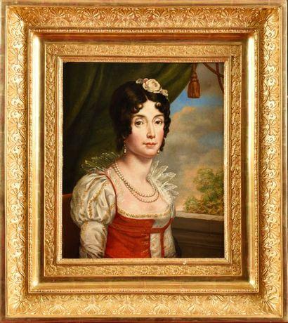 François GERARD, Baron, suiveur de «Portrait...