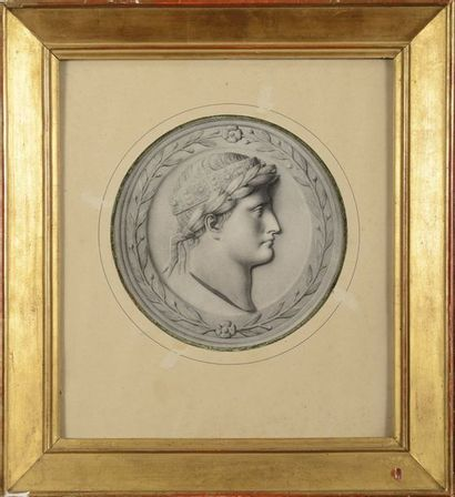 « Napoléon Ier, Roi d'Italie, à l'antique,...