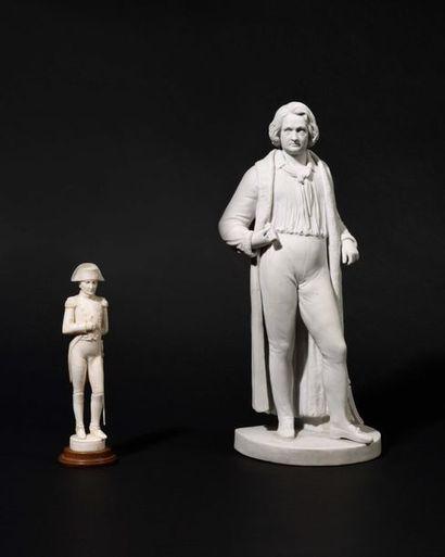« L'Empe reur Napoléon Ier en pied ». Statuette...