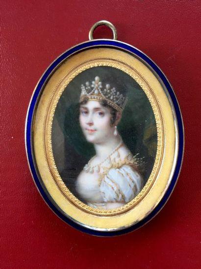 Daniel SAINT (1778-1847) « L'impératrice...