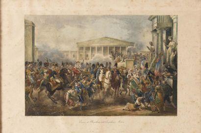 MARTINET, d'après «Entrée de Napoléon et...