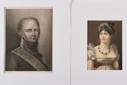 DU BRUSLE, d'après CLEMENT, graveur «Alexandre...