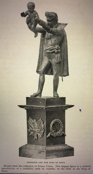 Jean-Bertrand ANDRIEU et Vivant DENON, d'après Ecole Française du XIXe siècle «L'Empereur...