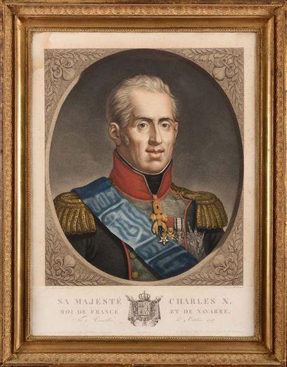 BUGUET, d'après. « Sa Majesté Charles X Roi...