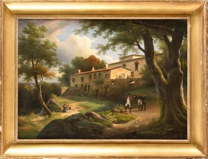 Augustin Thomas PHILIPPE (1797-1876) « Vue...