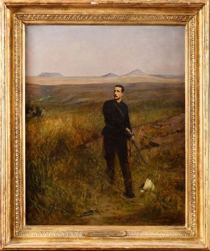 Alexandre PROTAIS (1825-1890) « Zoulouland...