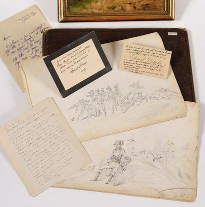 EDOUARD DETAILLE (1848-1912) Intéressant...