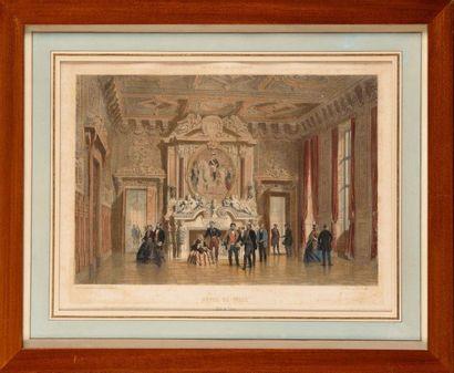 « La salle du trône de l'Hôtel de ville de...