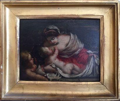 Ecole Italienne dans le goût du XVIIe Mère...