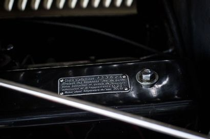 1950 Hotchkiss Type 686 S 49 Type 686 S 49  Châssis n° 85386  « Gascogne » 20 cv...