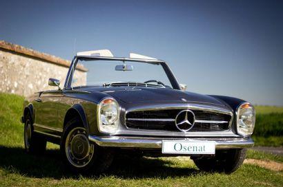 1968 Mercedes-Benz 280 SL Pagode California