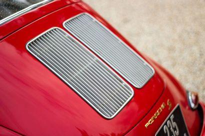 1962 Porsche 356 1600 S B-T6 Numéro de série 211245  Numéro moteur 703382  Numéro...