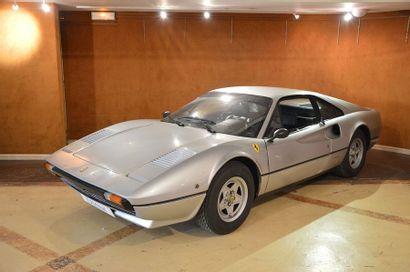 1980 Ferrari 308 GTB Carter Sec Numéro de série 30731  Restée pendant les 27 dernières...