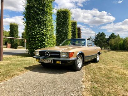 1984 Mercedes-Benz 500 SL Hard Top