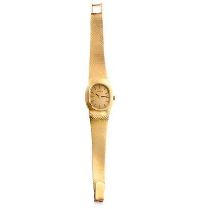 ZENITH  Montre bracelet de dameen or jaune...