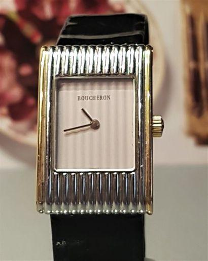 BOUCHERON Paris  Montre bracelet de dame...