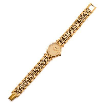 LONGINES vers 1980  Montre bracelet de dame...