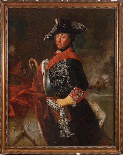 E cole allemande du XVIII e siècle. « Portrait...