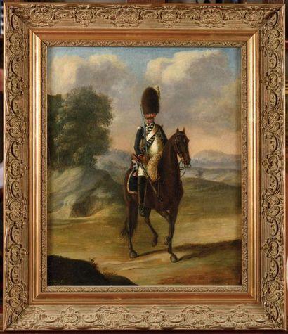 E cole française du XVIII e siècle. « Portrait...