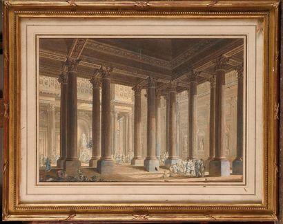Firmin PER LIN (1747- 1783). E cole française...