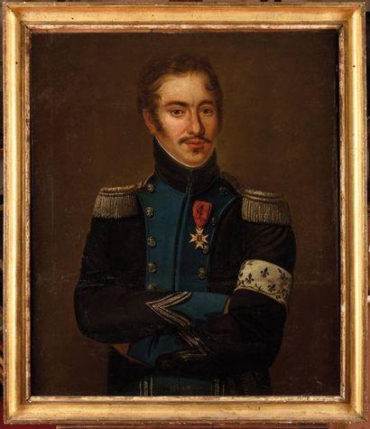E cole française du XIXe siècle. «Portrait...