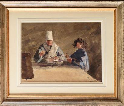 Louis Joseph ANTHONISSEN (1849-1913) Scène...