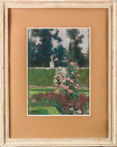 Etienne Adrien DRIAN (1885-1961) Rosiers...