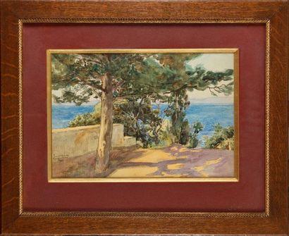 Paul LECUIT-MONROY (1858-?) Lamalgue,Toulon...