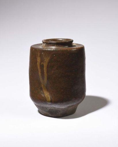 JAPON Fours de SETO : Boite à poudre de thé...
