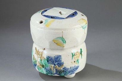 JAPON : Mizusashi (pot pour l'eau utilisé...