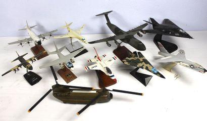 Maquettes d'avions de l'USAAF    10 Maquettes...