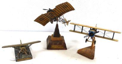 Maquettes d'avions Anciens    -Maquette en...