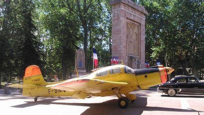 Avion - MORANE-SAULNIER MS 733    Avion Morane-Saulnier...