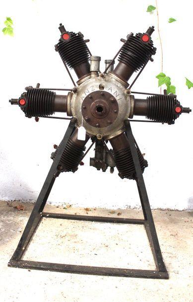 Moteur - ANZANI 6 Cylindres    Moteur Anzani...
