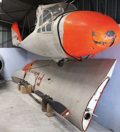 """Planeur Caudron C 800 """"Epervier"""" immatriculé F-CBXF    C'est l'ingénieur Raymond..."""