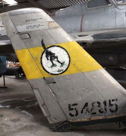 Dérive - SABRE F-86    Dérive d'un avion...
