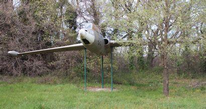 Avion - FOUGA MAGISTER 05    Le Fouga Magister...