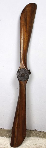 Hélice Avant 1914    Hélice bipale en bois...