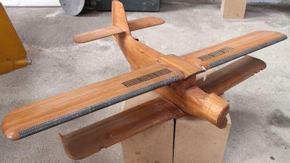 Maquette en bois verni - ANTONOV AN-2    Grande...