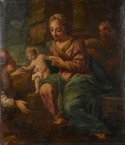 École émilienne vers 1700. Le mariage mystique...