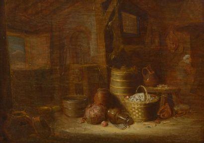 Attribué à Hendrick POTUYL (actif à Amsterdam...