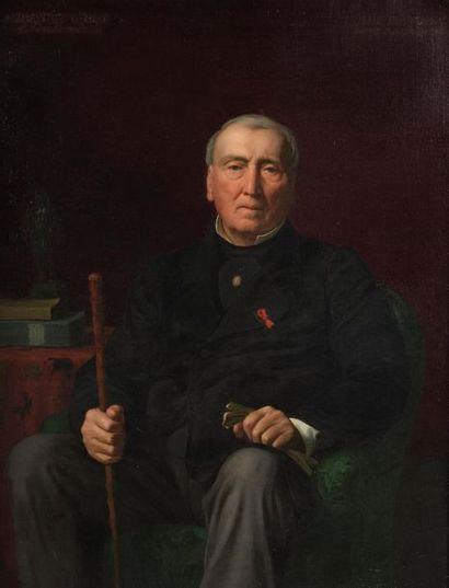 Paul FLANDRIN (Lyon, 1811 - Paris, 1902)....