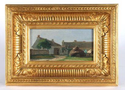 Adolphe Felix CALS (1810-1880). Entrée d'une...