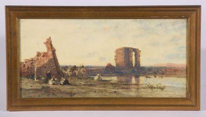 Narcisse BERCHÈRE (Étampes, 1818 - Asnières-sur-Seine,...