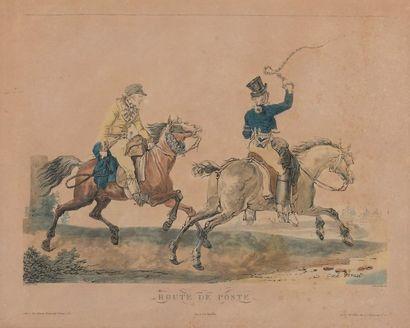D'après Carle VERNET (Bordeaux, 1756 - Paris, 1836) gravé par Philibert-Louis DEBUCOURT...