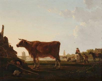 Attribué à Jacob Van STRY (Dordrecht, 1756...