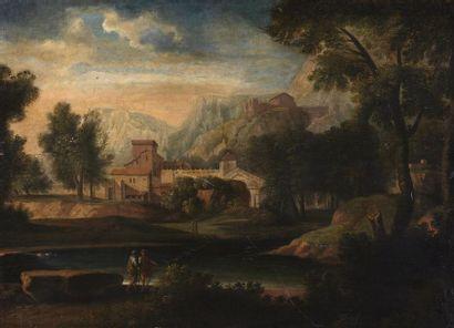 École romaine vers 1700, suiveur de Jan Frans...
