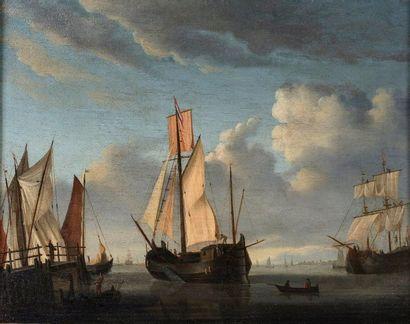École hollandaise vers 1800, suiveur de Willem...