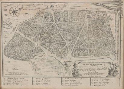 D'après Nicolas de FER (Paris, 1747 - 1720)....
