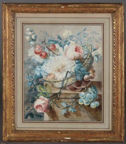 Pieter Van LOO (Haarlem, 1731 - 1784). Nature...